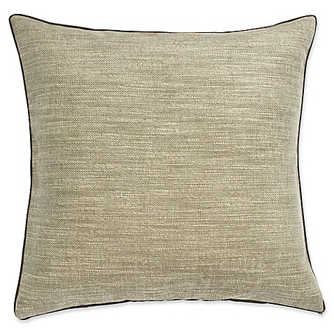 Buy Harlequin Lotus 20-Inch Square Throw Pillow in Light Taupe from Bed Bath & Beyond