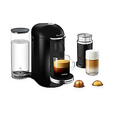 image of Nespresso® by Breville® VertuoPlus Deluxe Coffee and Espresso Maker Bundle with Aeroccino