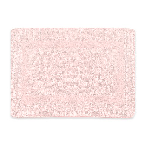 Buy Wamsutta 21 Inch X 34 Inch Reversible Bath Rug In Rose Quartz From Bed Bath Beyond