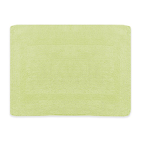 Buy Wamsutta 21 Inch X 34 Inch Reversible Bath Rug In Pear From Bed Bath Beyond