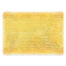 Image Of Laura Ashley Butter Chenille Bath Rug