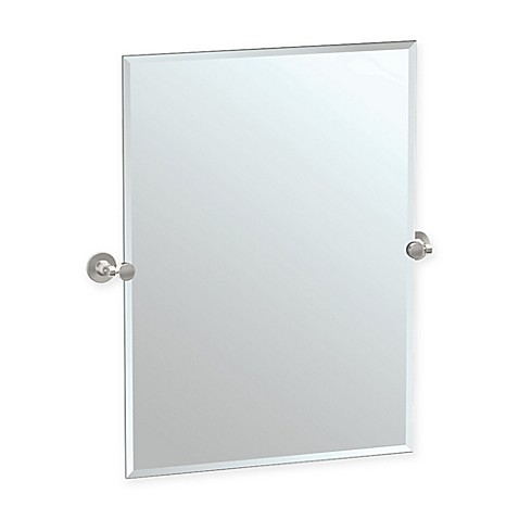 gatco bathroom mirrors buy gatco 174 max 27 5 inch framed oval mirror in satin 12943