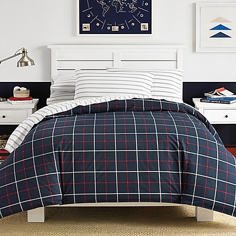 Image Of Nautica® Tillington Comforter Set In Navy