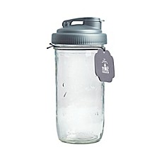 image of reCAP® Pour 24 oz. Mason with Lid in Silver