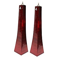 image of Outdoor Interiors® Large Pyramid Torches (Set of 2)