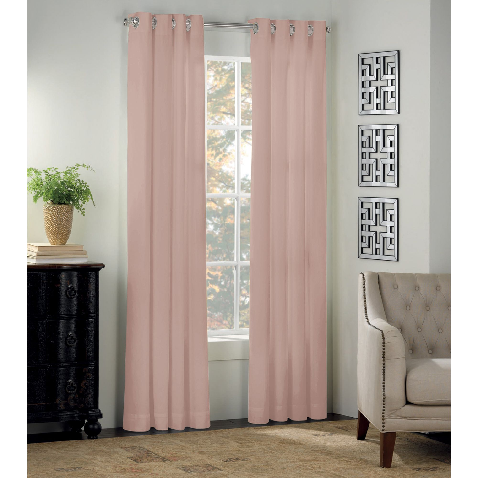 window curtains drapes decorative bed bath beyond image of newport grommet window curtain panel and valance