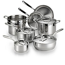 image of Lagostina Luminosa Stainless Steel 11-Piece Cookware Set
