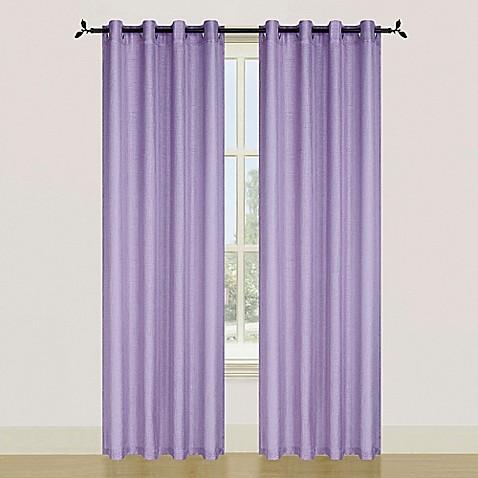 Ellen Tracy Spectrum 84 Inch Grommet Top Window Curtain