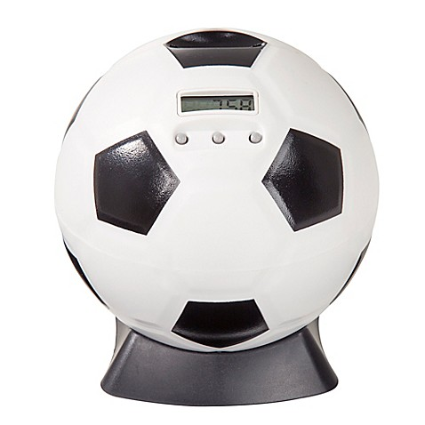 Piggy banks soccer ball digital coin counting bank from buy buy baby - Counting piggy bank ...