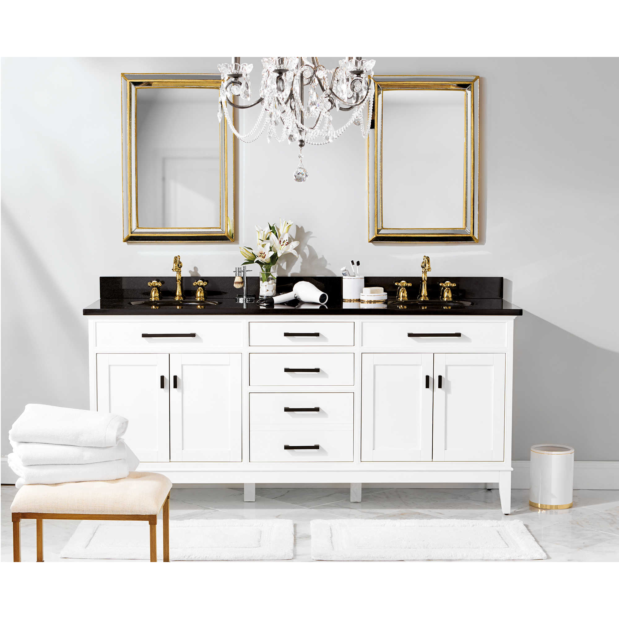Black and White Glam Bath - Bed Bath & Beyond