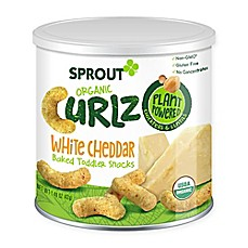 image of Sprout® 1.48 oz. White Cheddar Organic Curlz™ Baked Toddler Snack