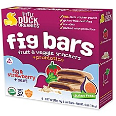 image of Little Duck™ Organics 6-Pack 4.02 oz. Fig Strawberry and Beet Bars