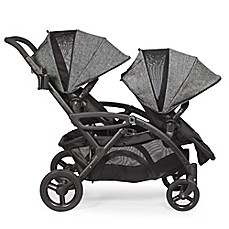 image of Contours® 2016 Options® Elite Tandem Stroller in Graphite