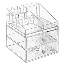 image of InterDesign® Vanity Organizer!™ Rain 2-Drawer Cosmetic Organizer