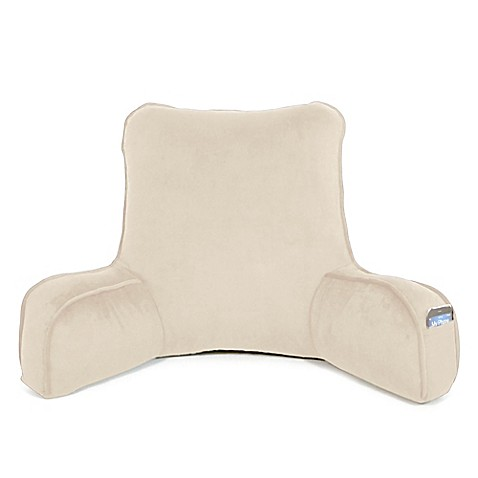 Buy Therapedic Oversized Memory Foam Backrest in Taupe from Bed Bath & Beyond