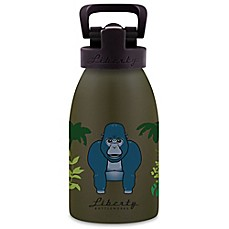 image of Liberty Bottleworks Safari 12 oz. Aluminum Gorilla Water Bottle in Green
