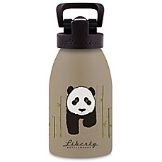 image of Liberty Bottleworks Safari 12 oz. Aluminum Panda Water Bottle in Tan