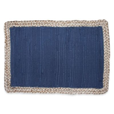 image of Karur Jute Placemat in Navy
