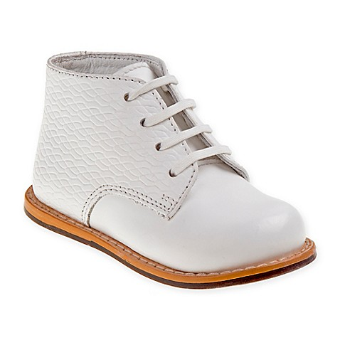 Josmo Shoes Woven Print Shoes in White BABY