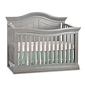 sorelle providence 4in1 convertible crib in stone grey - Sorelle Cribs