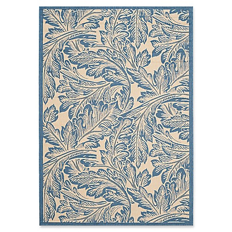 Safavieh Courtyard Autumn Leaves Indoor/Outdoor Rug