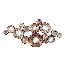 Circle Wall Art metal wall decor - bed bath & beyond