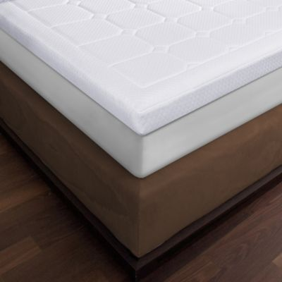 image of Therapedic® Luxury Quilted Deluxe 3-Inch Memory Foam Twin XL Bed Topper