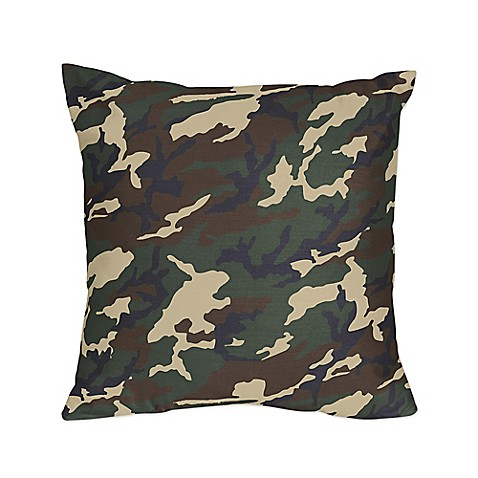 Camo Couch Throw Pillows : Decorative Pillows > Sweet Jojo Designs Camo Decorative Throw Pillows in Green (Set of 2) from ...
