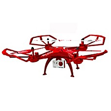 image of Swift Stream Z-10 Wi-Fi Camera Drone in Red