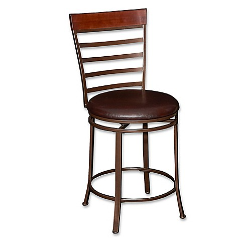 Miller Big Amp Tall Counter Stool In Bronze Bed Bath Amp Beyond