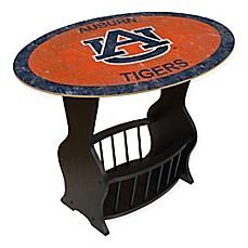 image of Auburn University Distressed End Table