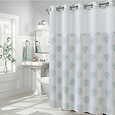 image of Hookless Coral Reef Shower Curtains