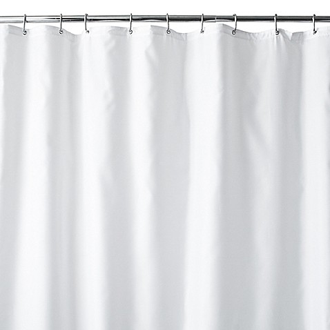 buy wamsutta 144 inch x 72 inch extra wide fabric shower curtain liner with suction cups in. Black Bedroom Furniture Sets. Home Design Ideas