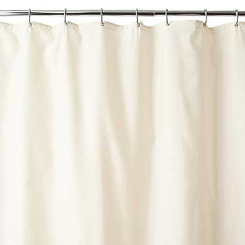 Wamsuttareg Fabric Shower Curtain Liner With Suction Cups
