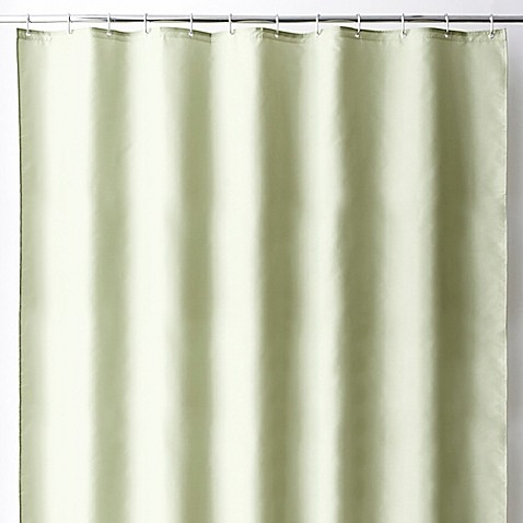 Wamsutta® Fabric Shower Curtain Liner with Suction Cups - Bed Bath & Beyond
