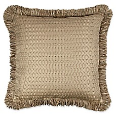 image of Austin Horn Classics Prosper 20-inch Square Throw Pillow in Copper/Gold