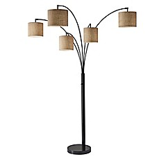 image of Adesso® Trinity 5-Arm Arc Floor Lamp
