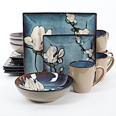 image of Gibson Elite Bloomsbury 16-Piece Dinnerware Set
