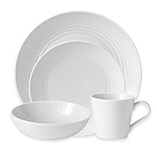 image of Gordon Ramsay by Royal Doulton® Maze 16-Piece Dinnerware Set in White