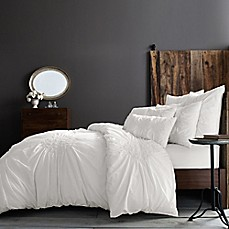 image of Wamsutta® Vintage Ruched Duvet Cover