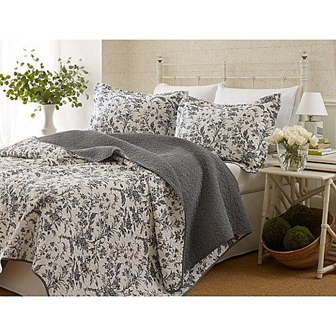 Laura Ashley Reg Amberley Quilt Set