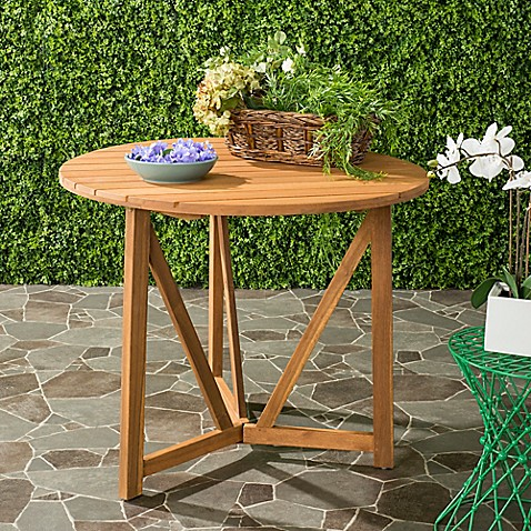Safavieh Cloverdale Outdoor Table Bed Bath Beyond