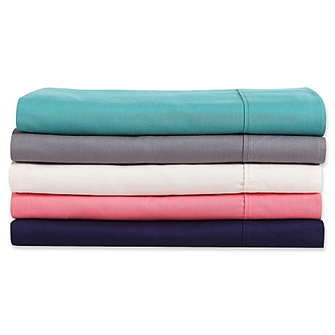 Clairebella solid sheet set bed bath beyond for Clairebella