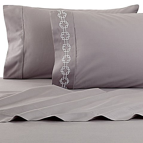 Buy clairebella solid queen sheet set in frost from bed for Clairebella