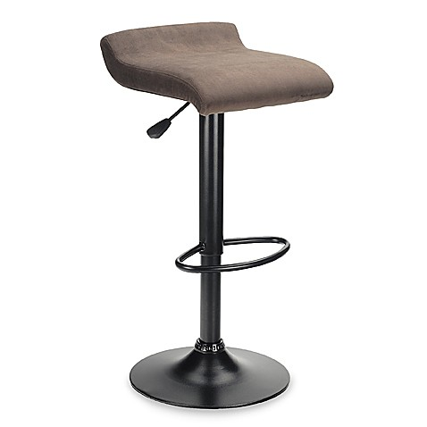 Backless Padded Air Lift Stool