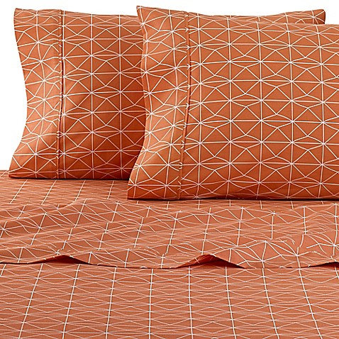 Clairebella geometric sheet set bed bath beyond for Clairebella