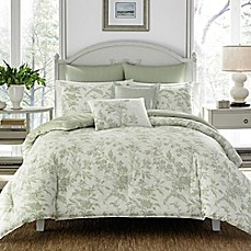 image of Laura Ashley® Natalie Reversible Comforter Set