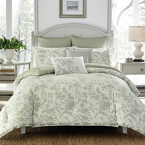 Laura ashley natalie reversible comforter set bed bath beyond laura ashleyreg natalie reversible comforter set gumiabroncs Choice Image
