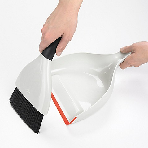 OXO Good Gripsu0026reg; Dustpan and Brush Set & OXO Good Grips® Dustpan and Brush Set - Bed Bath u0026 Beyond