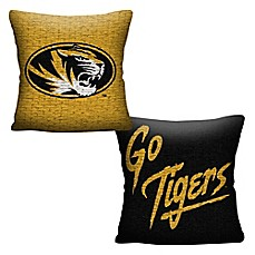 image of University of Missouri Woven Square Throw Pillow